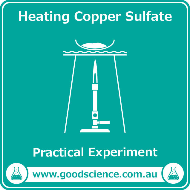 heating copper sulfate practical laboratory experiment